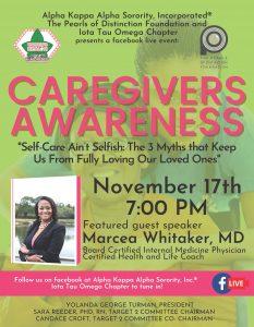 Caregivers Event Flyer