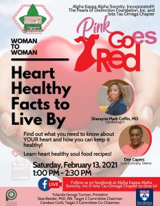 Heart Healthy Facts to live by event flyer photo
